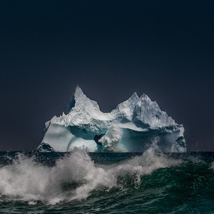 Iceberg, Bear Cove, NL -2017
