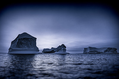 Multiple Icebergs