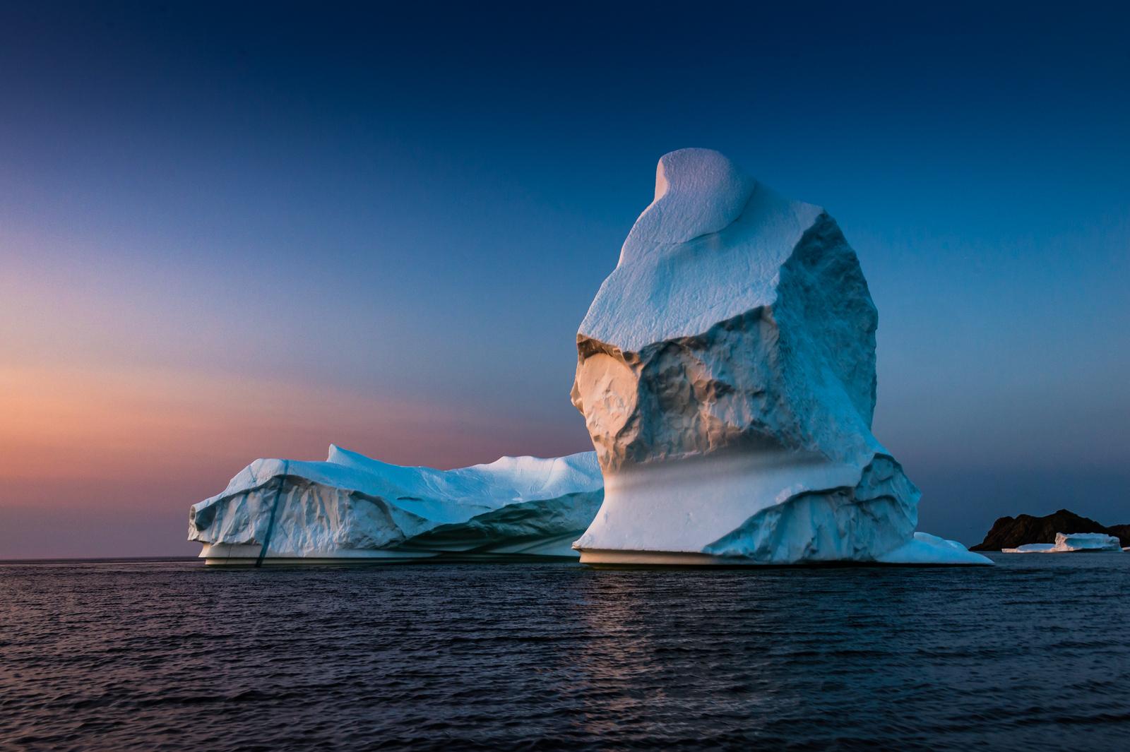 Iceberg photographed off Twillingate, NL