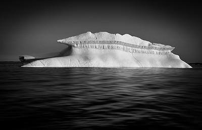 Iceberg in Monochrome