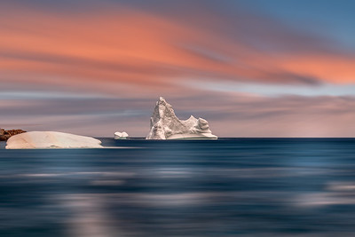 Iceberg in Pastel Colours- Grates Cove, NL -D859925