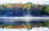 Autumn Mist with Reflection (Keweenaw Peninsula, Michigan)