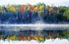 Autumn Mist with Reflection (Keweenaw Peninsula, Michigan)