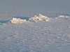 Small snow piles on Lake Nockamixon