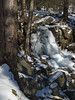 Icy Falls at Spruce Lake Retreat - Canadensis, PA
