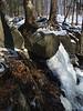 Icy Falls at Spruce Lake Retreat - Canadensis, PA