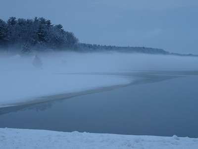 Quitticas fogged in just after a snow storm....Lakeville