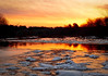 Nemasket River Sunrise<br /> Vaughn Street<br /> Lakeville, Ma