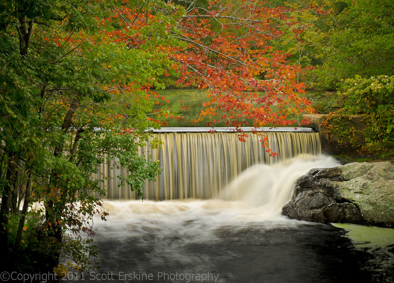 West River Dam, Uxbridge, MA