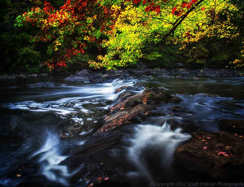 Blackstone Gorge Color.    Blackstone Massachusetts