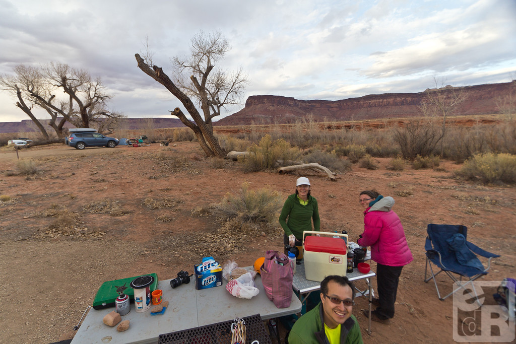 Good morning! Terri, Haley and Leo in camp.