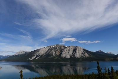 Tagish Lake, Lime Mountain, Yukon Territory.