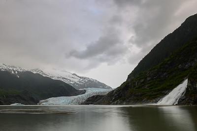 Mendenhall Glacier & Lake, Nugget Falls, Alaska