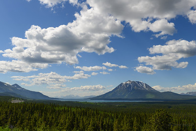 6,913 ft Mt. Minto above Atlin Lake, BC