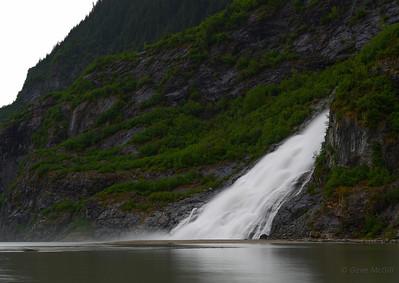 Nugget Falls, Mendenhall Lake, Alaska