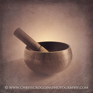 My first singing bowl
