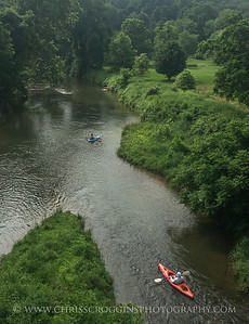 Kayakers in Gunpowder Falls State Park