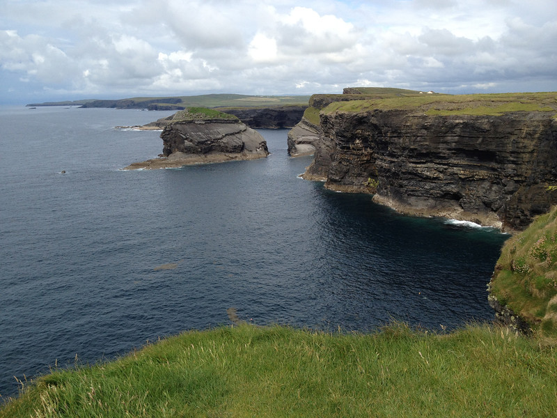Coastal cliffs near Kilkee