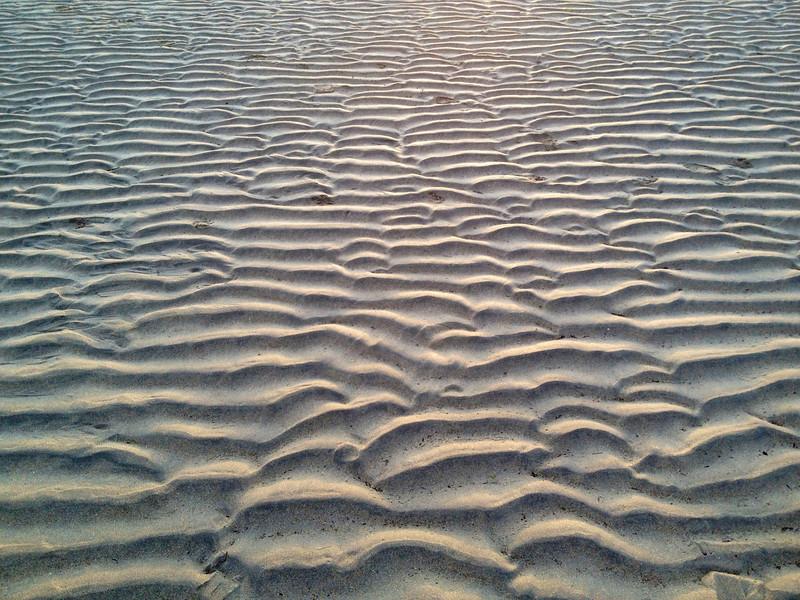 Ripples on Kilkee beach
