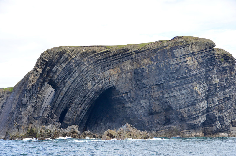 Anticline in the Ross Formation, Loop Head Peninsula