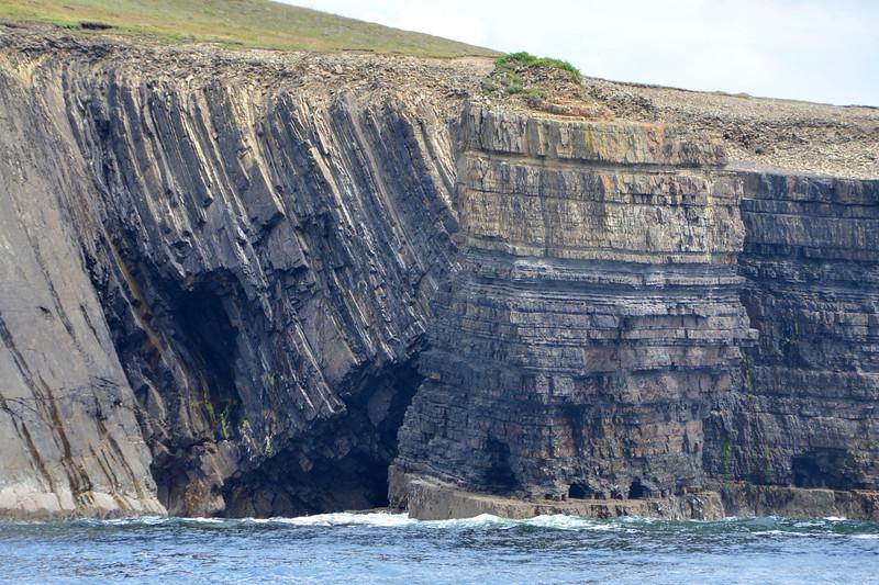 Folded turbidite sandstones, Ross Formation