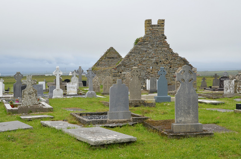 Old cemetery on the Loop Head Peninsula