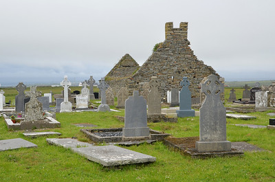 Old cemetery on the Loop Head Peninsula