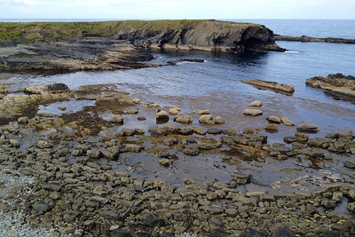 The coast near Bridges of Ross