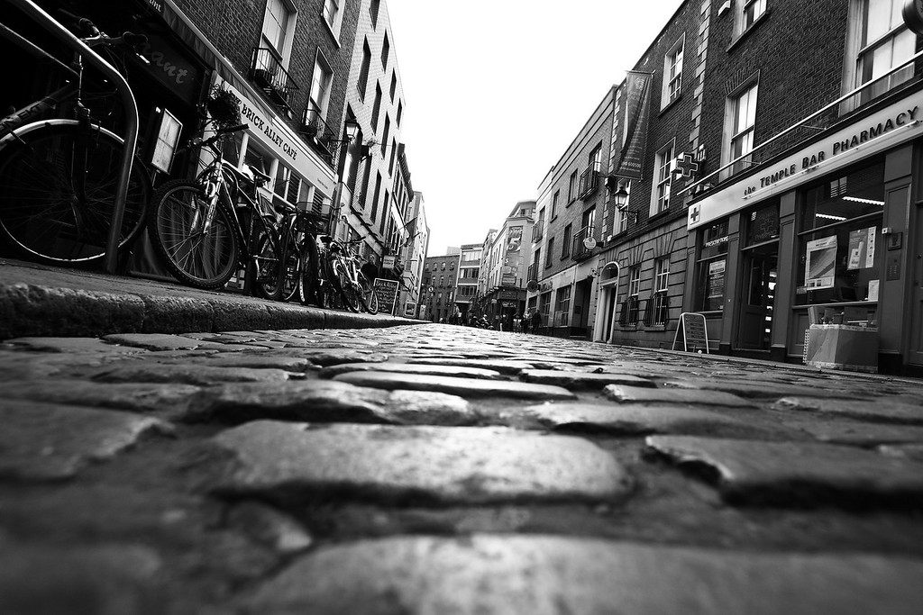 Cobbles of the Temple Bar. By Spencer Knisely.