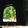 The small tunnel just before the Natural Tunnel