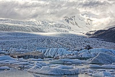 Eiswelt am Breiðárlón und Breiðamerkurjökull - Island  Iceworld at the Breiðárlón and Breiðamerkurjökull - Iceland