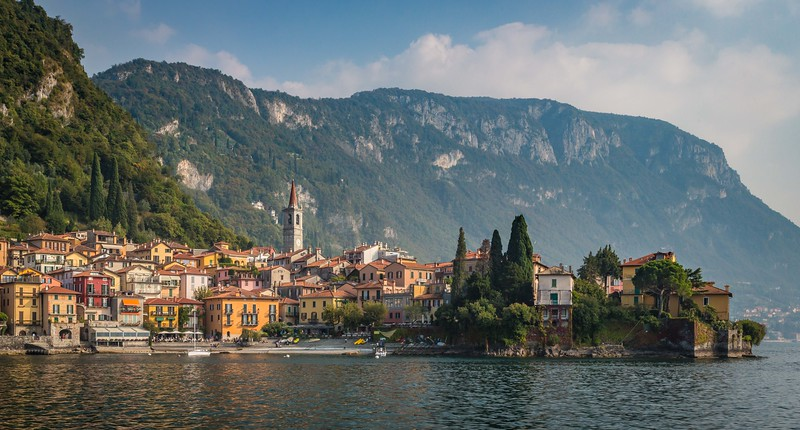Varenna, Italy on Lake Como