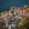 High above Varenna