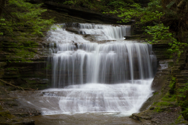 Buttermilk Falls State Park - Ithaca, NY