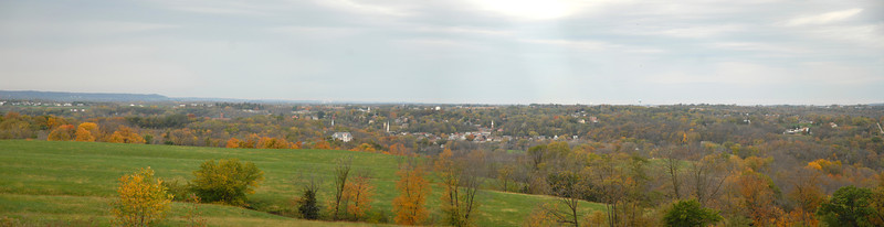 H2I088D Panoramic View of Galena, IL