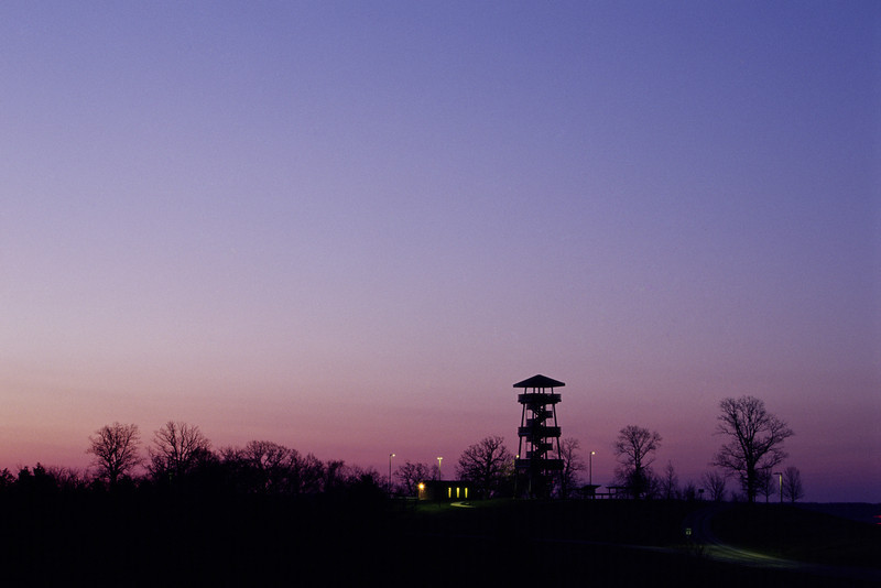 Long Hollow Tower Sunrise - near Elizabeth, IL (Pre-2013)