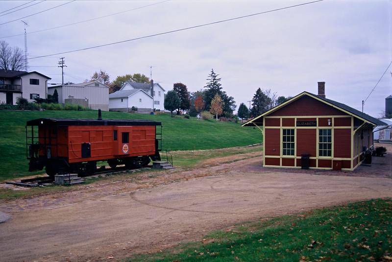 Chicago Great Western Railway Train Station, Elizabeth, IL