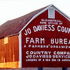 Old Jo Daviess County Farm Bureau Barn near Elizabeth, IL