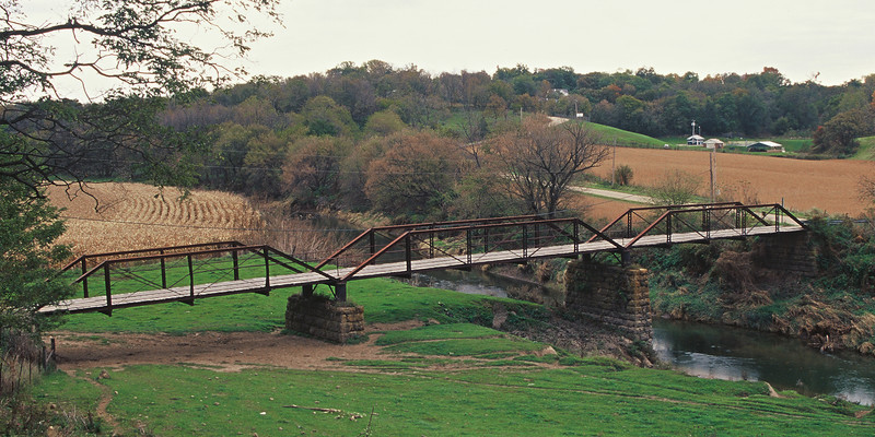Georgetown Bridge - Panoramic (10x20)