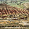 Painted Hills, view South