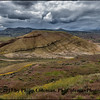 Springtime Storm Over the Painted Hills