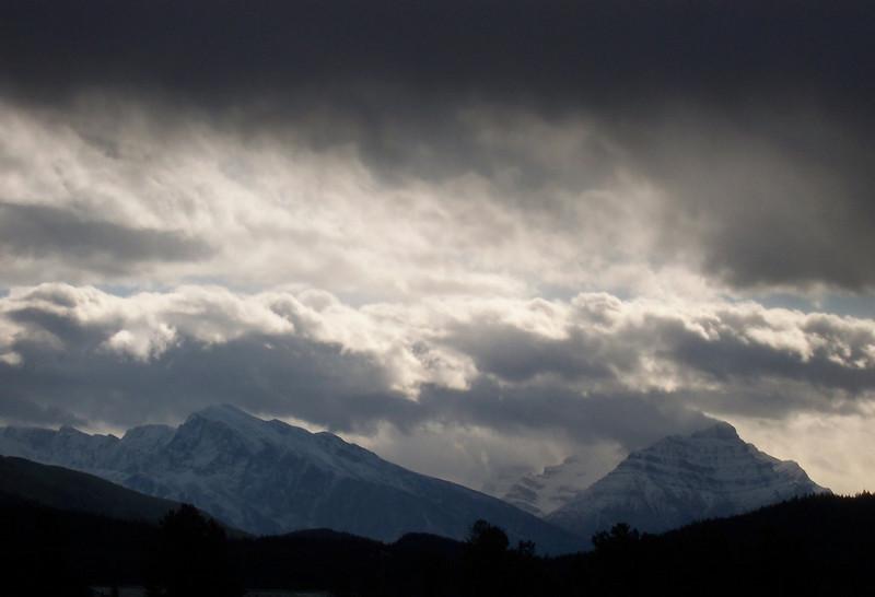 The Jasper skyline