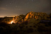 Jumbo Rocks campground in Joshua Tree National Park.