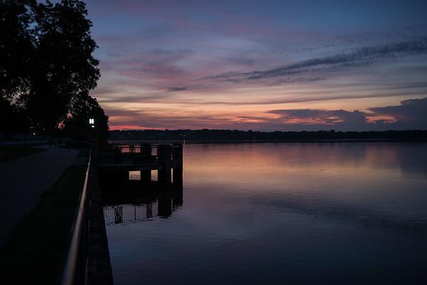 July 16, 2017 Sunrise at White Rock Lake