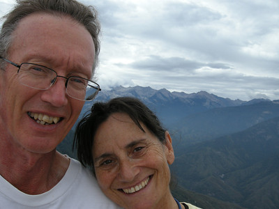 Bryan, Michèle, and the Great Western Divide.