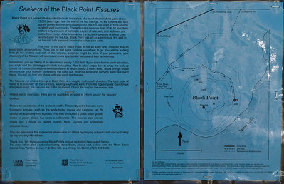 We visited Black Point on the north shore of Mono Lake but didn't have time to climb up to find the slot canyons.  Maybe next time.