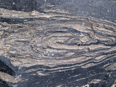 Closeup of rock from the obsidian dome