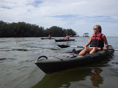 Kayaking Mosquito Lagoon 16Aug13