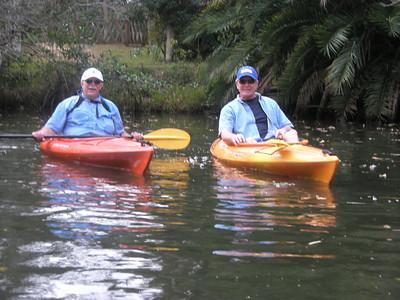 Kayaking Estero River in Florida