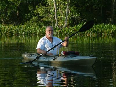 Kayaking on the Wakulla River